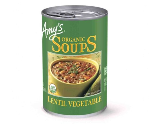 Amy's Lentil Vegetable Soup